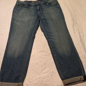 Cropped Eddie Bauer Jeans
